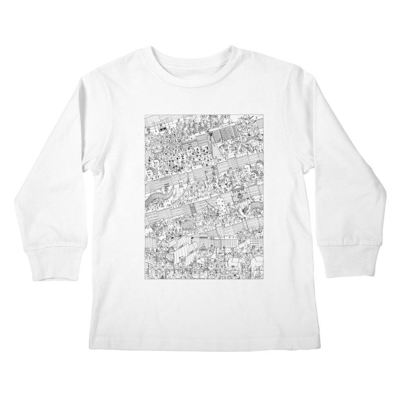 Carnaval Kids Longsleeve T-Shirt by yobann's Artist Shop