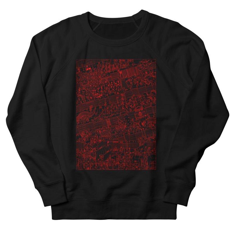 Carnaval Men's French Terry Sweatshirt by yobann's Artist Shop