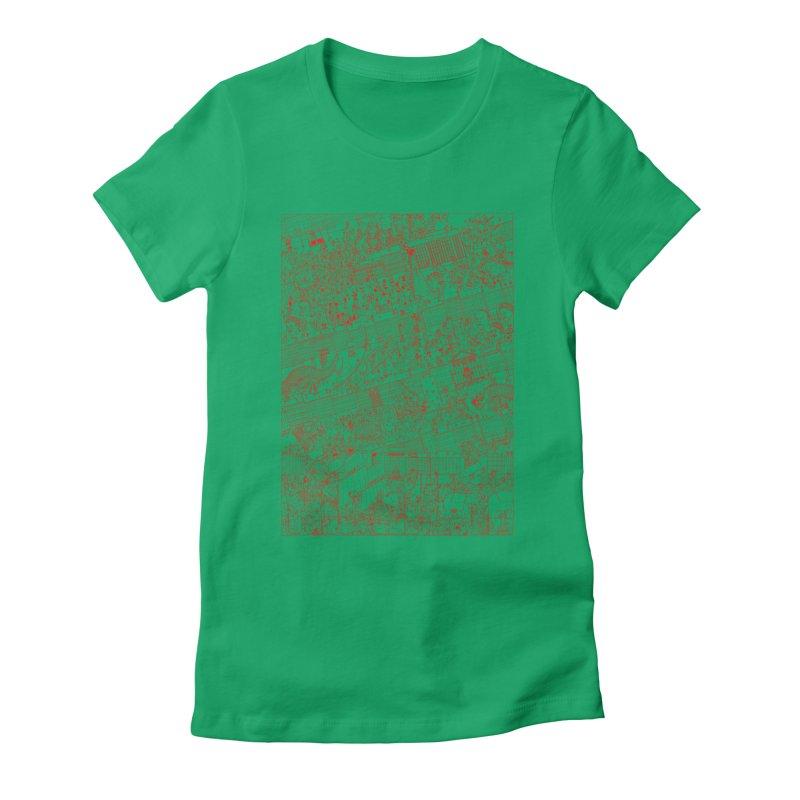 Carnaval Women's Fitted T-Shirt by yobann's Artist Shop