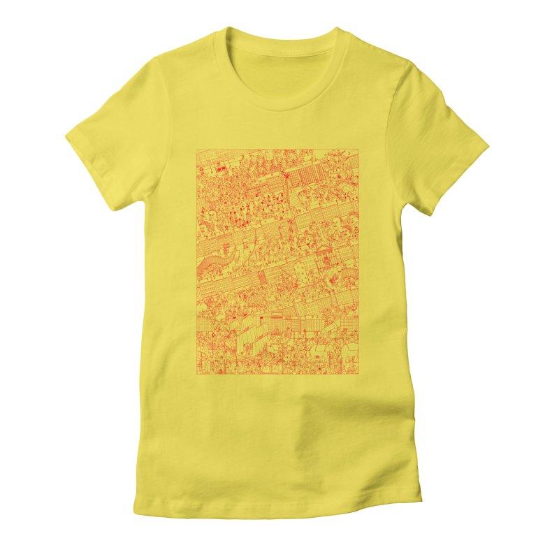 Carnaval Women's T-Shirt by yobann's Artist Shop