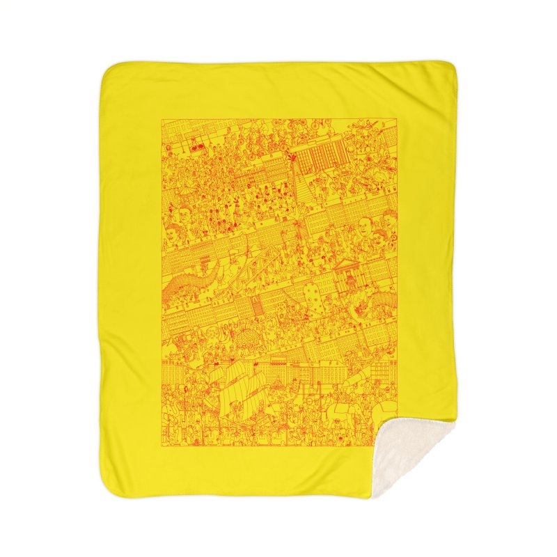Carnaval Home Blanket by yobann's Artist Shop