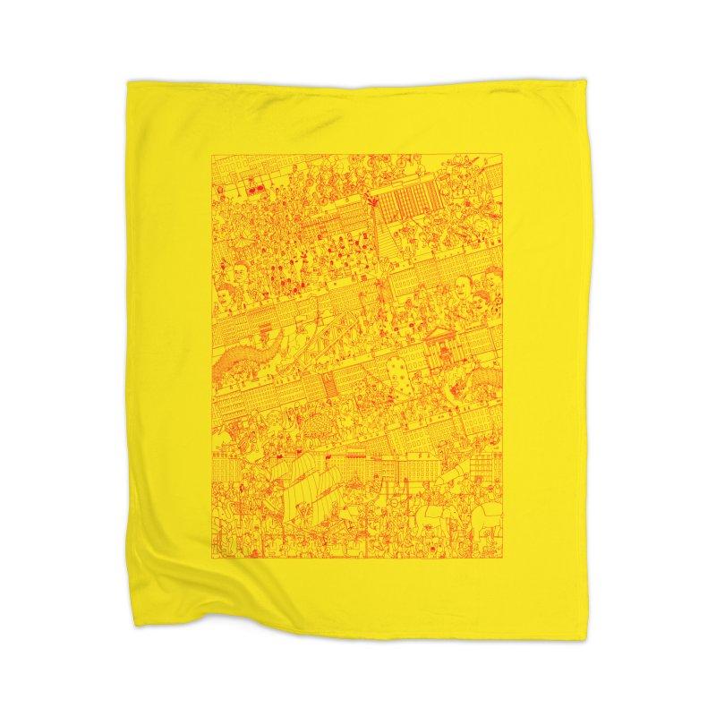 Carnaval Home Blanket by yobann's Artist Shop