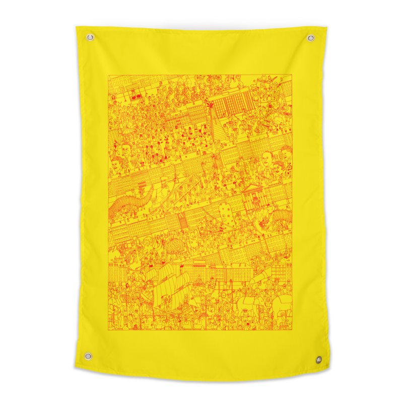 Carnaval Home Tapestry by yobann's Artist Shop