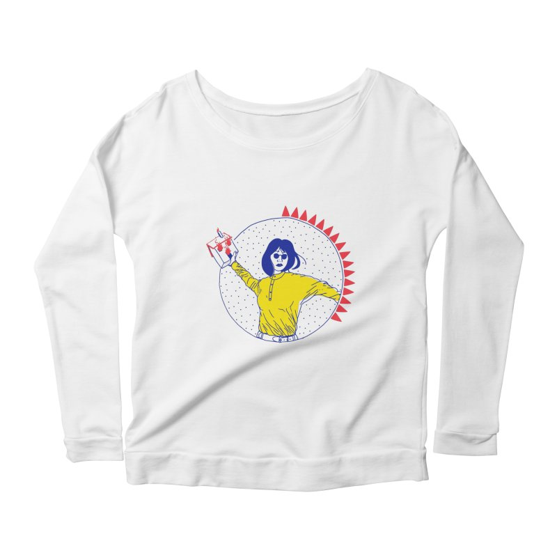 house breaker Women's Longsleeve Scoopneck  by yobann's Artist Shop