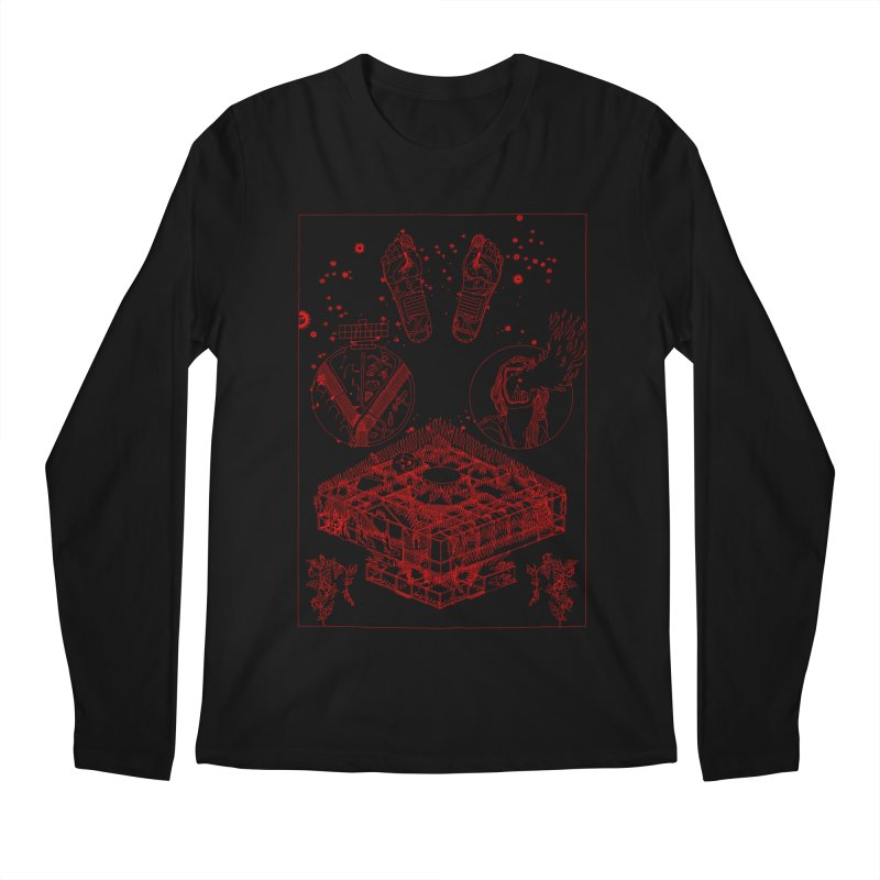 Buchet Men's Longsleeve T-Shirt by yobann's Artist Shop
