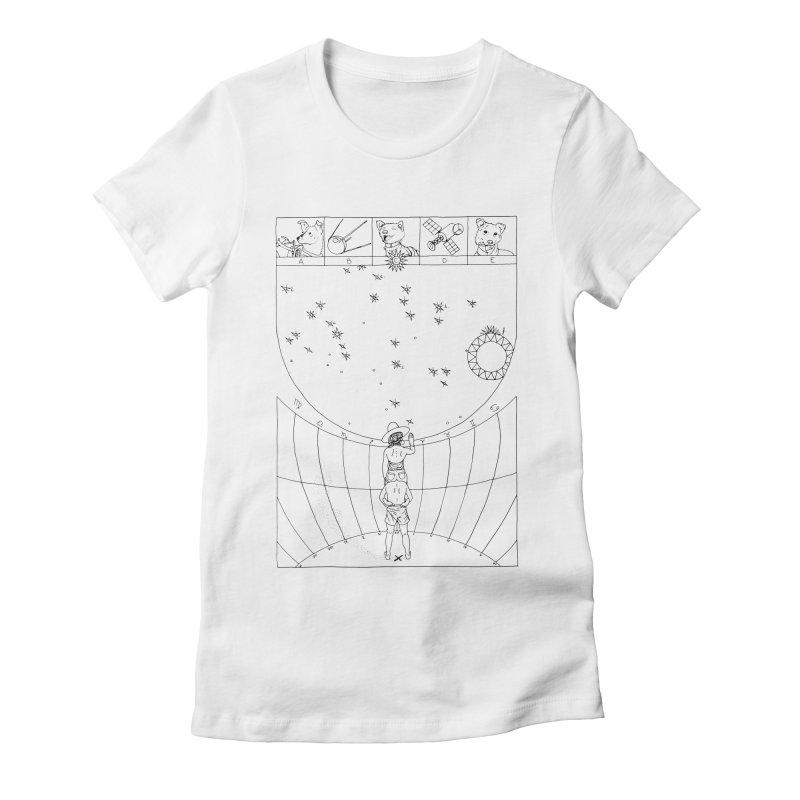 Scaphé Women's Fitted T-Shirt by yobann's Artist Shop