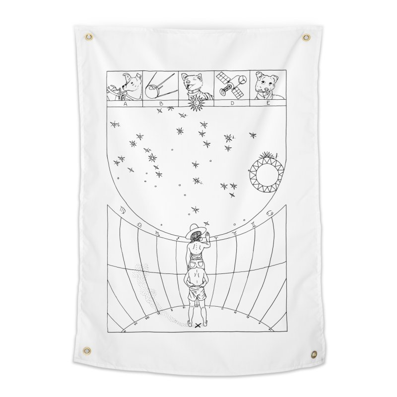 Scaphé Home Tapestry by yobann's Artist Shop