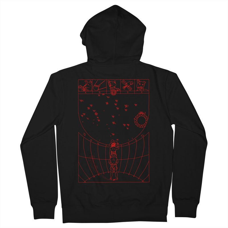 Scaphé Men's French Terry Zip-Up Hoody by yobann's Artist Shop