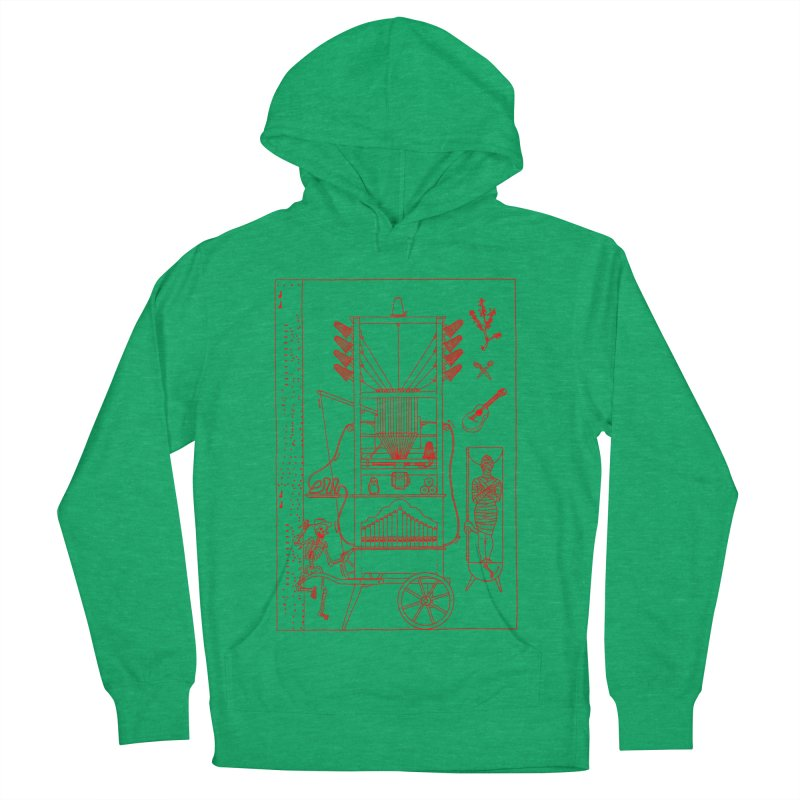 Orgue Women's French Terry Pullover Hoody by yobann's Artist Shop
