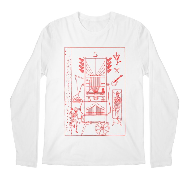 Orgue Men's Regular Longsleeve T-Shirt by yobann's Artist Shop