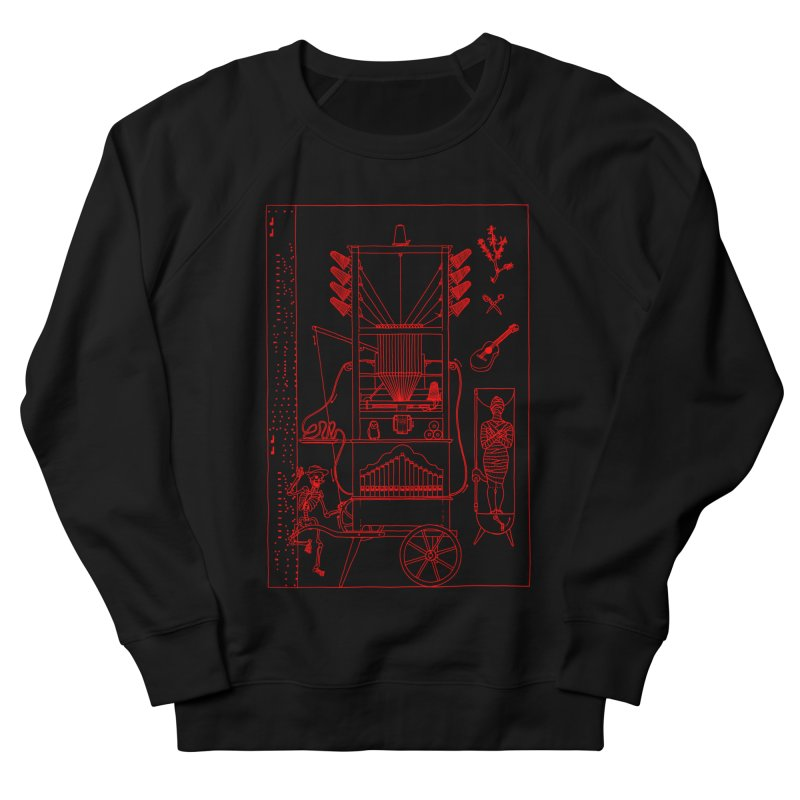 Orgue Women's French Terry Sweatshirt by yobann's Artist Shop
