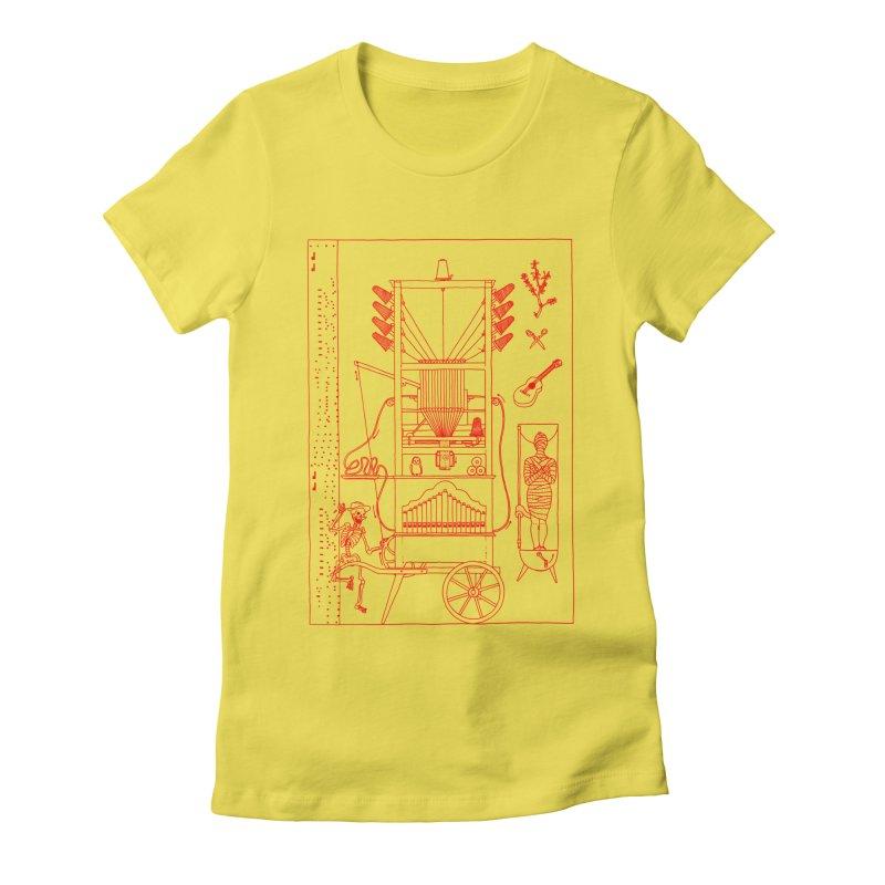 Orgue Women's T-Shirt by yobann's Artist Shop