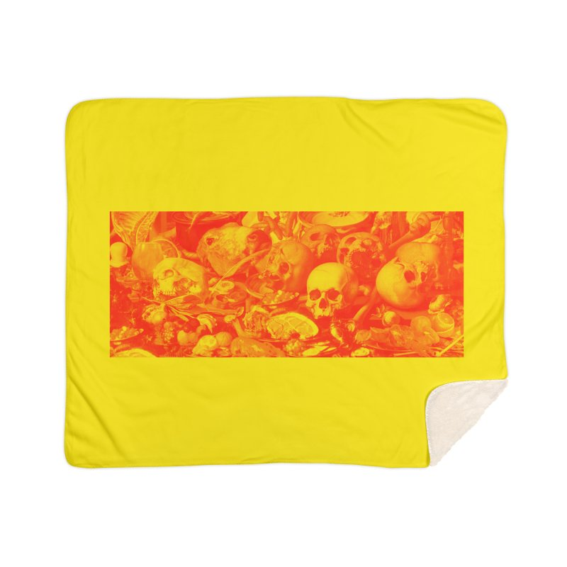 Vanity Home Sherpa Blanket Blanket by yobann's Artist Shop