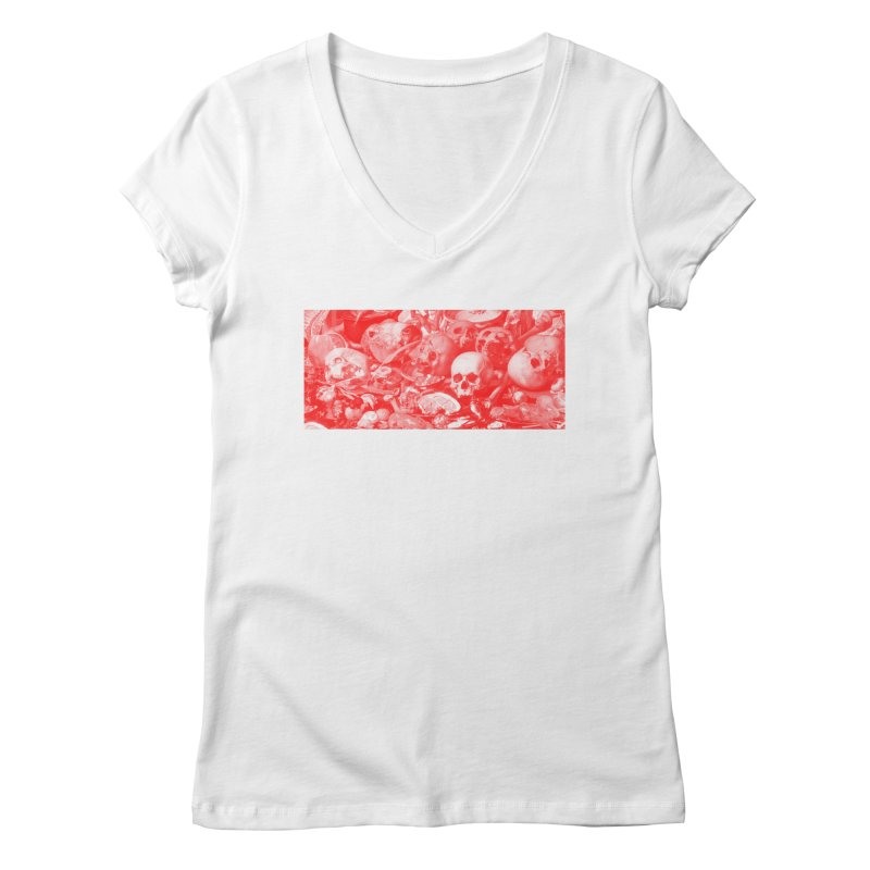 Vanity Women's V-Neck by yobann's Artist Shop