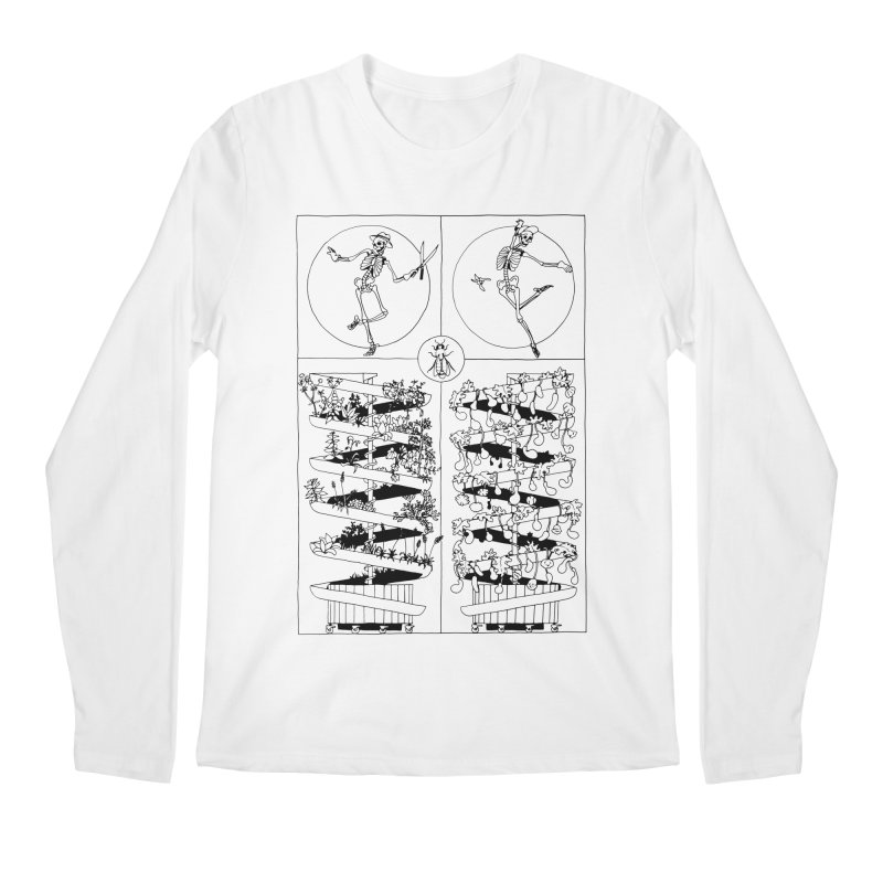 Jardin Men's Regular Longsleeve T-Shirt by yobann's Artist Shop