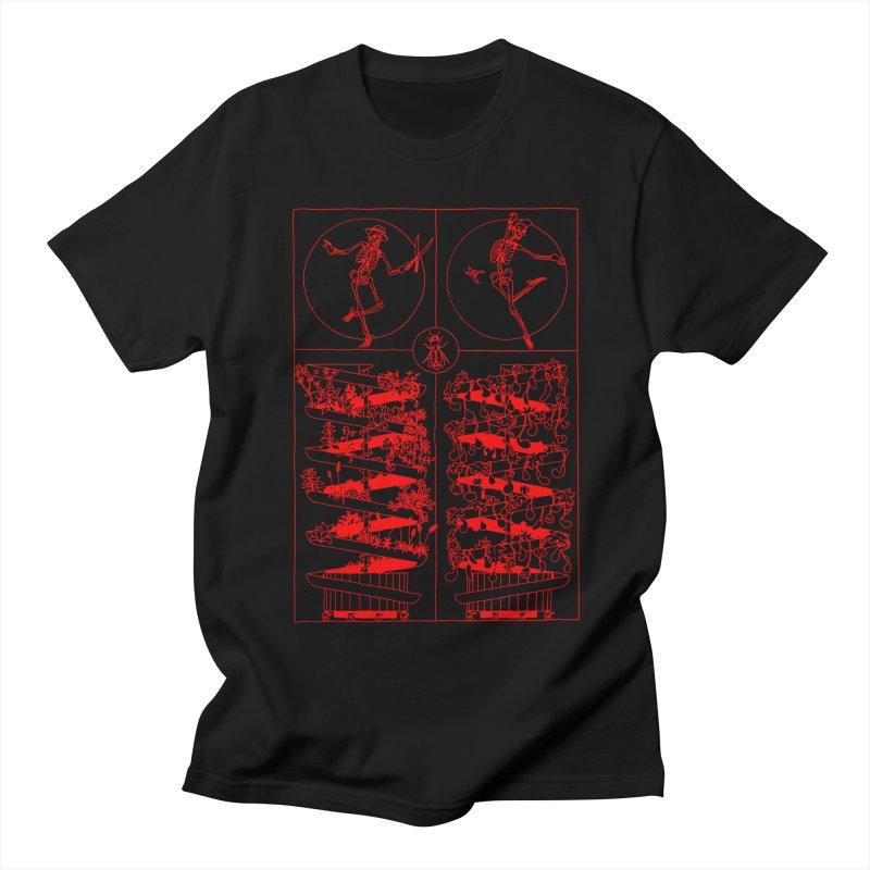 Jardin Men's T-Shirt by yobann's Artist Shop