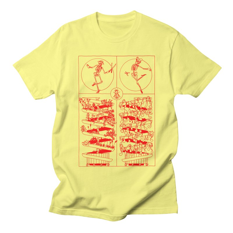 Jardin Men's Regular T-Shirt by yobann's Artist Shop