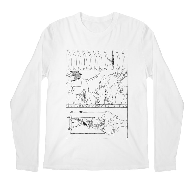 Conquistador Men's Regular Longsleeve T-Shirt by yobann's Artist Shop