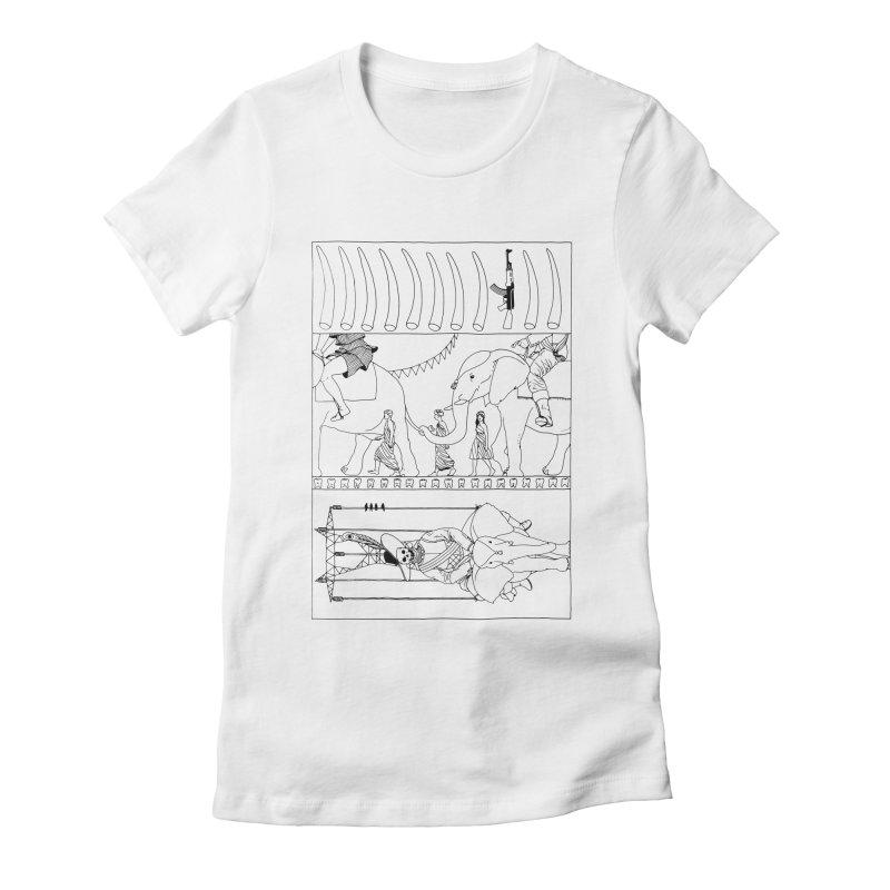 Conquistador Women's Fitted T-Shirt by yobann's Artist Shop