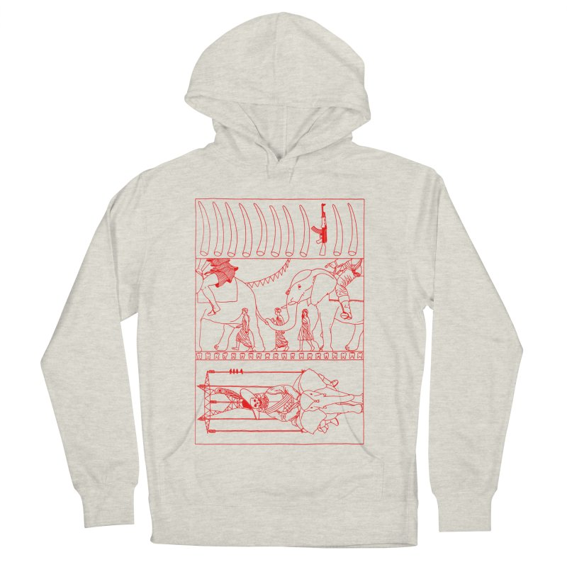 Conquistador Men's French Terry Pullover Hoody by yobann's Artist Shop