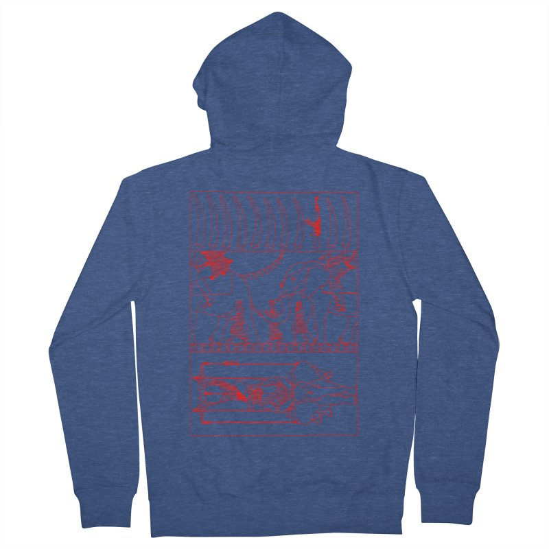 Conquistador Men's French Terry Zip-Up Hoody by yobann's Artist Shop