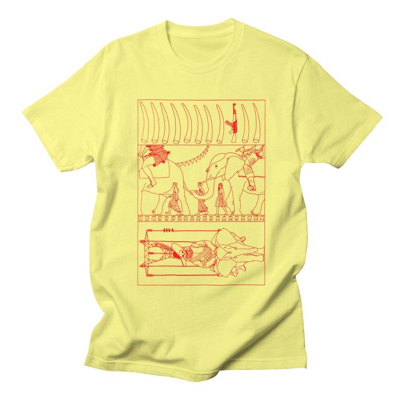 Conquistador Men's Regular T-Shirt by yobann's Artist Shop