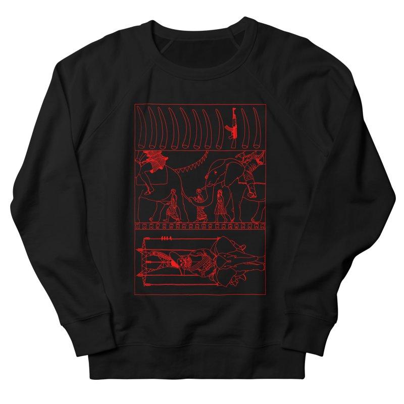 Conquistador Men's French Terry Sweatshirt by yobann's Artist Shop