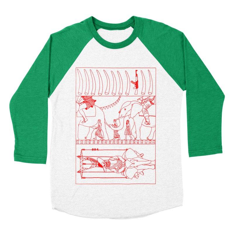 Conquistador Women's Baseball Triblend Longsleeve T-Shirt by yobann's Artist Shop