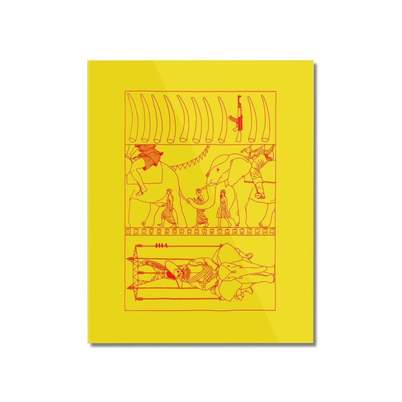 Conquistador Home Mounted Acrylic Print by yobann's Artist Shop