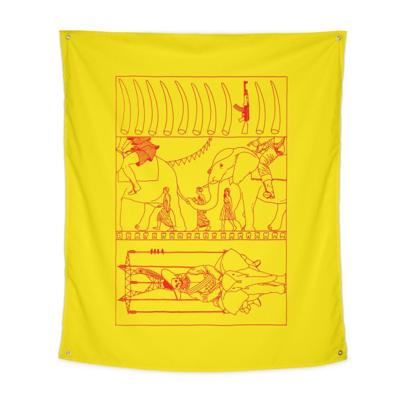 Conquistador Home Tapestry by yobann's Artist Shop