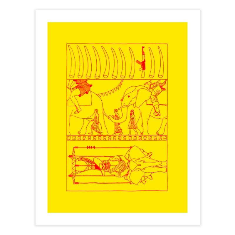 Conquistador Home Fine Art Print by yobann's Artist Shop