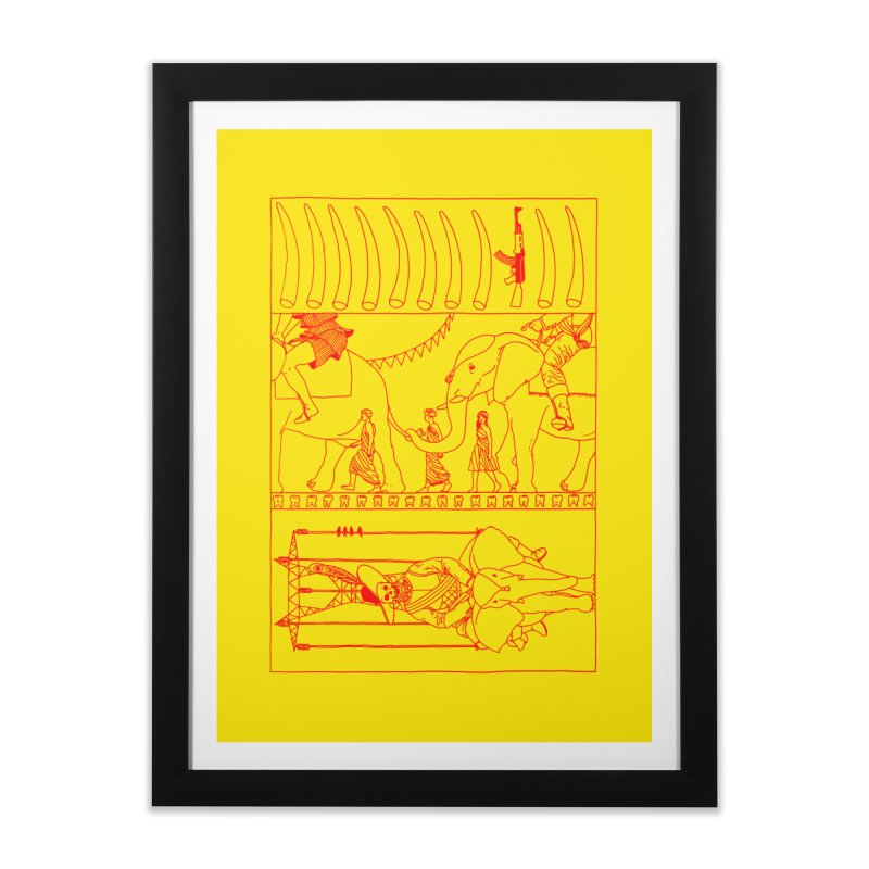 Conquistador Home Framed Fine Art Print by yobann's Artist Shop