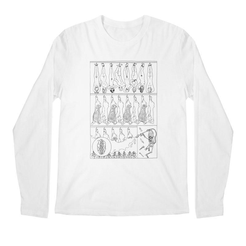 Fresh Flesh Men's Longsleeve T-Shirt by yobann's Artist Shop