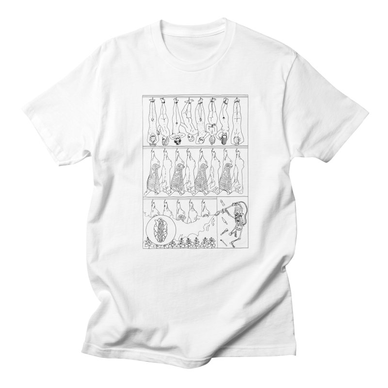 Fresh Flesh Men's T-Shirt by yobann's Artist Shop