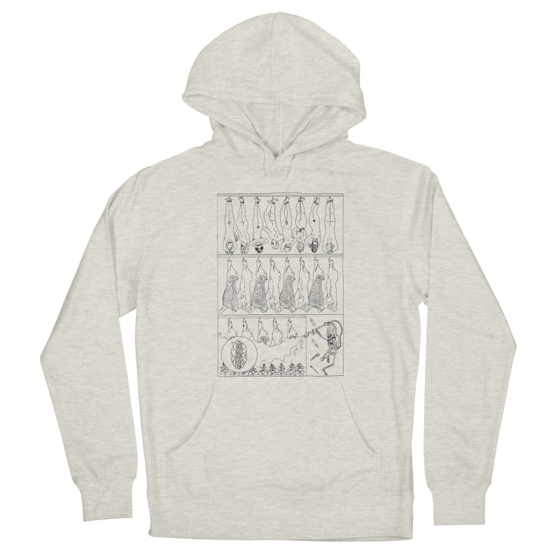 Fresh Flesh Women's Pullover Hoody by yobann's Artist Shop