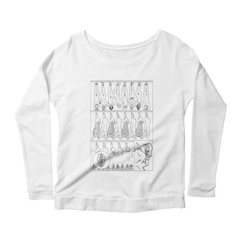 Fresh Flesh Women's Longsleeve T-Shirt by yobann's Artist Shop