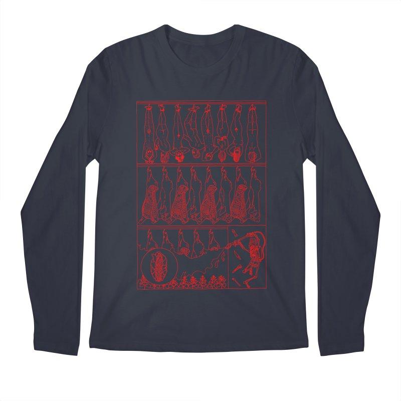 Fresh Flesh Men's Regular Longsleeve T-Shirt by yobann's Artist Shop