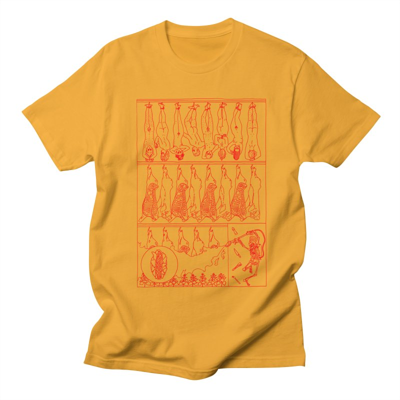 Fresh Flesh Men's Regular T-Shirt by yobann's Artist Shop