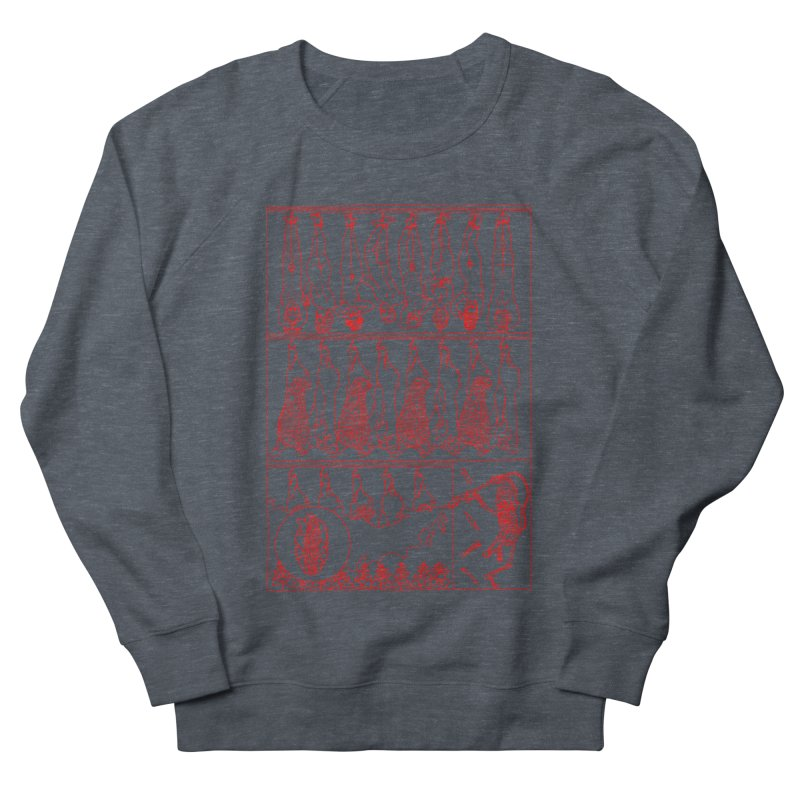 Fresh Flesh Women's French Terry Sweatshirt by yobann's Artist Shop