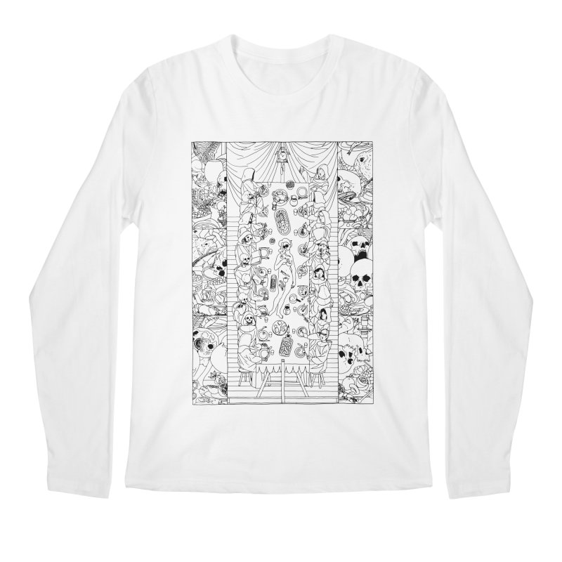 Happy Meal Men's Regular Longsleeve T-Shirt by yobann's Artist Shop