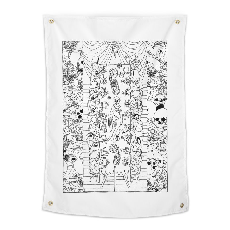 Happy Meal Home Tapestry by yobann's Artist Shop
