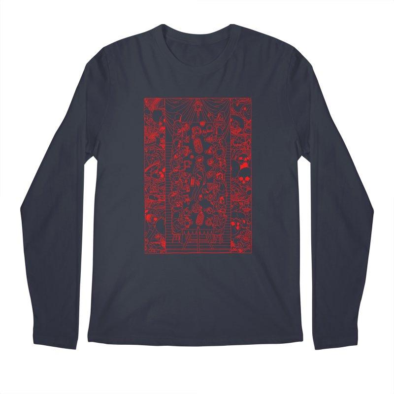 Happy Meal Men's Longsleeve T-Shirt by yobann's Artist Shop