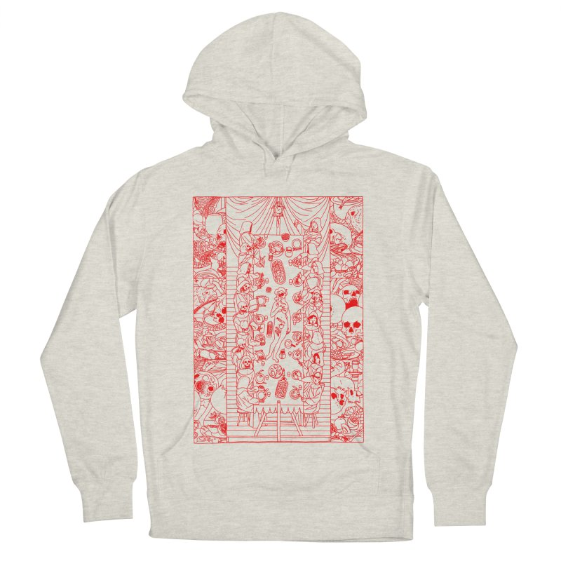 Happy Meal Women's French Terry Pullover Hoody by yobann's Artist Shop
