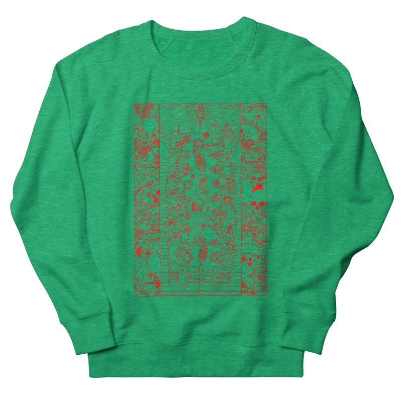 Happy Meal Women's French Terry Sweatshirt by yobann's Artist Shop