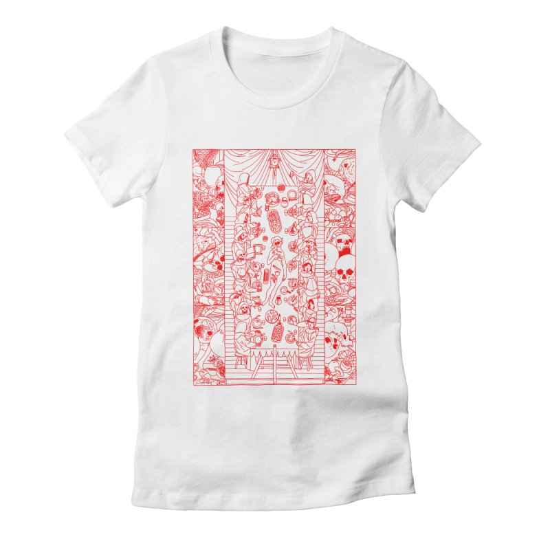 Happy Meal Women's T-Shirt by yobann's Artist Shop