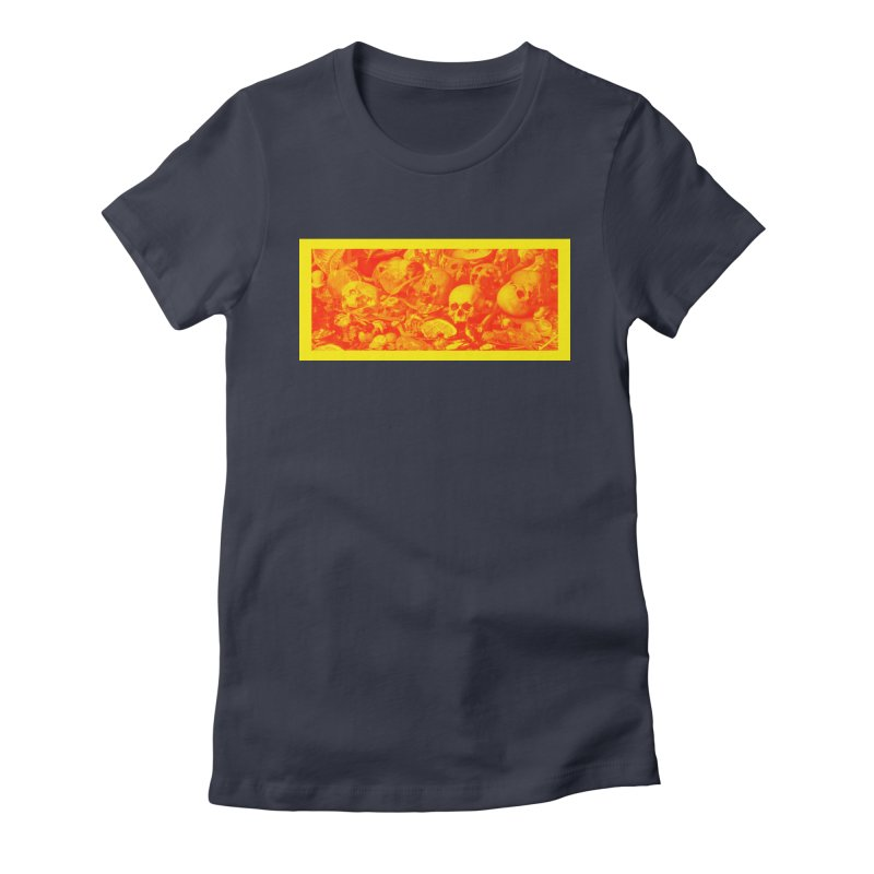 Vanity Women's Fitted T-Shirt by yobann's Artist Shop