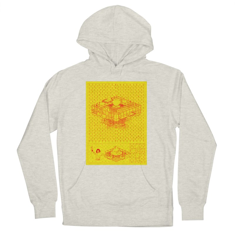 Caramantran Men's French Terry Pullover Hoody by yobann's Artist Shop
