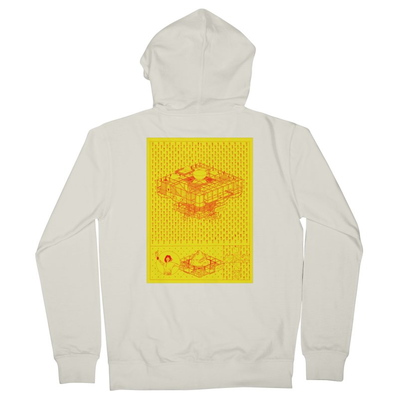 Caramantran Women's Zip-Up Hoody by yobann's Artist Shop