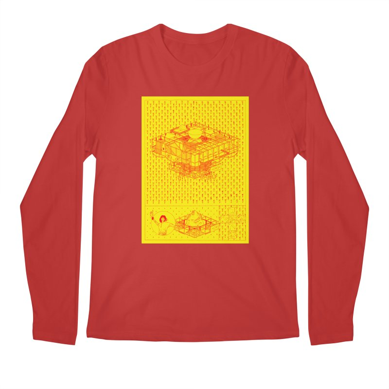 Caramantran Men's Regular Longsleeve T-Shirt by yobann's Artist Shop