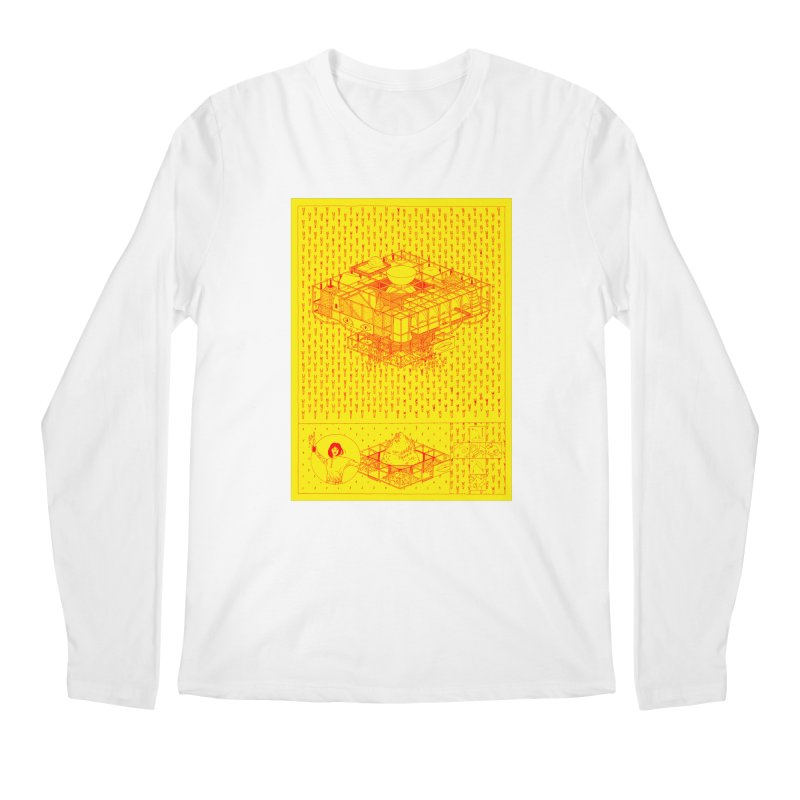 Caramantran Men's Regular Longsleeve T-Shirt by yobann's Artist Shop